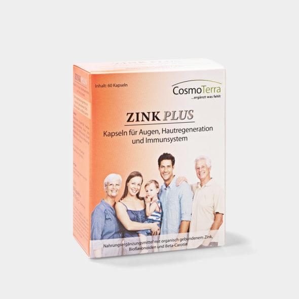 Zinc Plus capsules 60 pcs