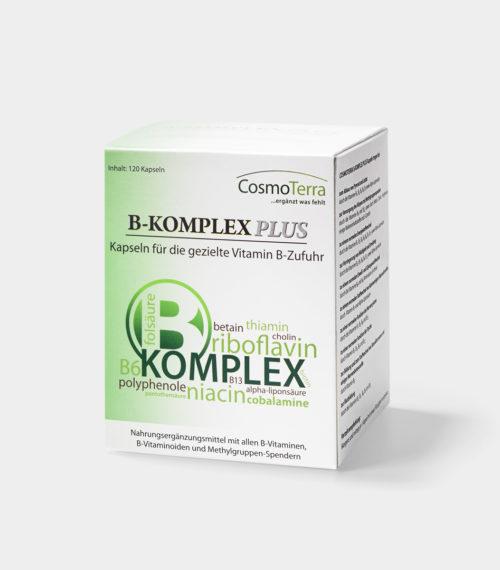 B-Komplex Plus Kapseln