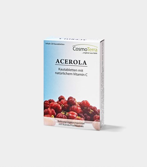 Acerola chewable tablets