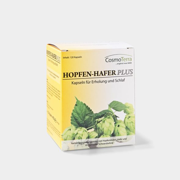 Hops Oats Plus capsules