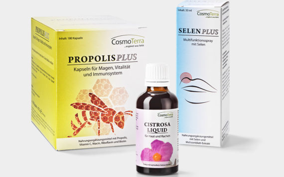 PROPOLIS PLUS + SELEN PLUS Spray + CISTROSA LIQUID Set